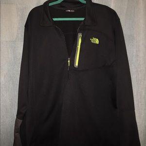 Men's North Face Pullover half zip